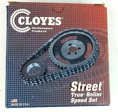 SBC CHEVY CLOYES True Double Roller Timing Chain 9-1100