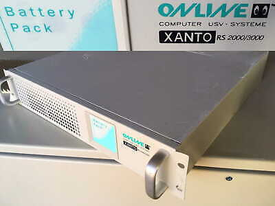 USV XANTO RS 2000/3000 Backup Power Supply Battery Pack Notstromversorgung Syste