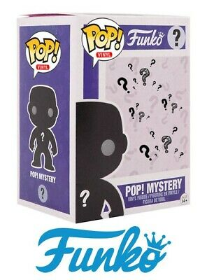 Funko Pop Mystery Box – Exclusive, Chase, Limited, Vaulted, Common with Bonus