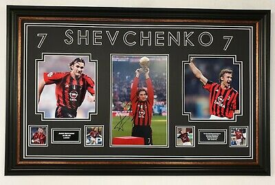 *** RARE Andriy Shevchenko SIGNED PHOTO PICTURE Autographed Display *** AFTAL