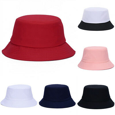 79e6e9cd FA- Casual Bucket Hat Men Women Outdoor Hiking Fisherman Hat Visor Basin Cap  Rel