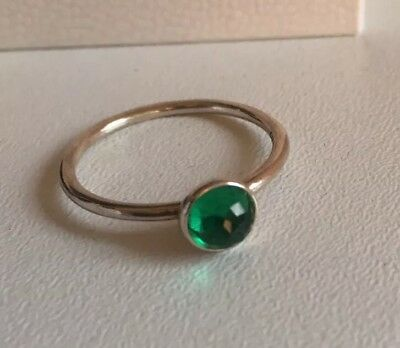 ee046e0b8 PANDORA MAY BIRTHSTONE Droplet Ring Size 60 Brand New In Gift Box ...