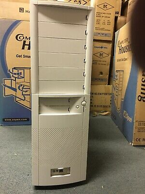 Aopen H700A Full Town Case (White) with 300W Aopen Power Supply