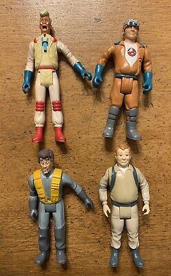 Lot of 4 Vintage Ghostbusters Action Figures  1984 1987 Rare Who You Gonna Call