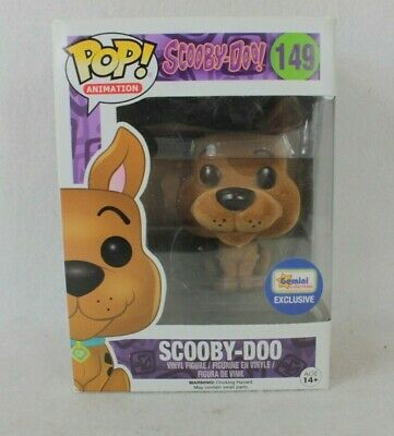 Funko Pop Animation Scooby Doo Vinyl Figure 149 Gemini Flocked Exclusive