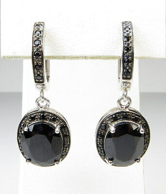 5a805e104 SCOTT KAY BLACK Spinel Sterling Silver Drop Earrings - $396.90 ...