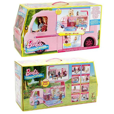 Barbie DreamCamper Adventure Camping Toy Doll Playset