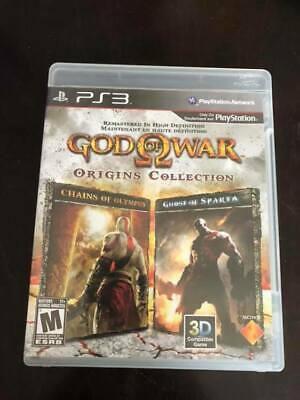God of War: Origins Collection (Sony PlayStation 3, 2011) Complete