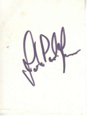 John Paul Jones Vintage Signed Autographed 2x3.5 Album Page Beckett BAS