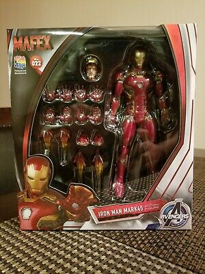 NEW MAFEX IRON MAN MARK45 AVENGERS AGE OF ULTRON ABS/&ATBC-PVC painted figure F//S