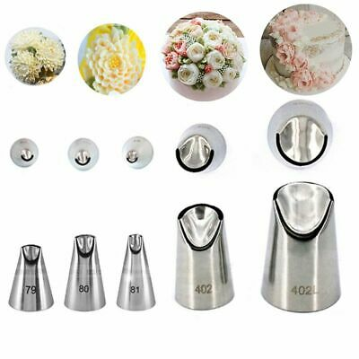 Baking Cream Russian Nozzle Stainless Steel Icing Piping  Tips Juju Tulip