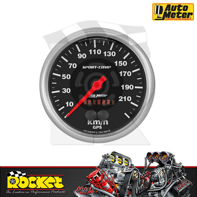Automotive Auto Meter 3983 Sport-Comp GPS Speedometer Gauges