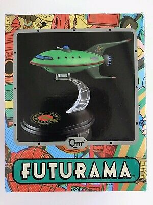 Futurama Planet Express Ship Model LOOT CRATE-Q-Fig from QMX July 2016