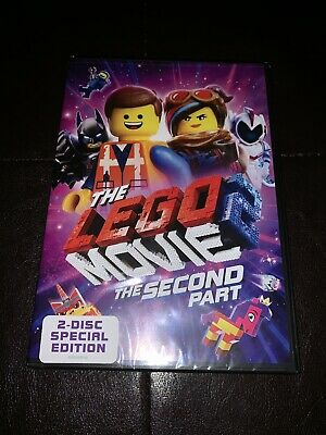BRAND NEW The LEGO Movie 2: The Second Part DVD
