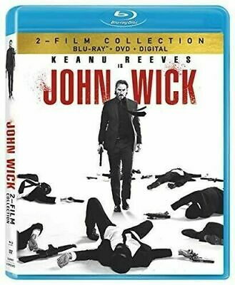 John Wick 1 And 2 [New Blu-ray] With Blu-Ray, DVD, Dolby, Digital Theatre Extras