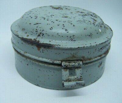 Antique Spice Tin Box Storage with Nutmeg Grater
