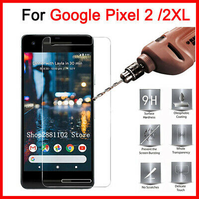 9H Premium Tempered Glass Screen Protector Film For Google Pixel 2 / 2 XL Ya