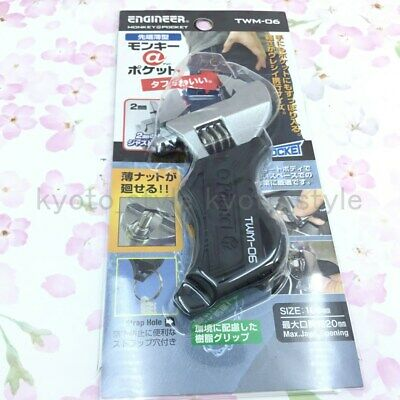 Engineer TWM-06 Adjustable angle Small wrenche 63566 JAPAN IMPORT