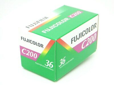 1x FUJI FUJICOLOR C200 35mm 36exp CHEAP COLOR PRINT FILM by 1st CLASS ROYAL MAIL