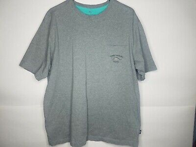 Tommy Bahama / L / 100% Pima Cotton Relaxed Fit Embroidered T Shirt / Gray