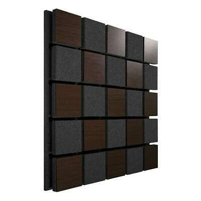 "2pcs 50x50x5,5cm Ecosound Tetras Acoustic Wood ""Chess grid"","