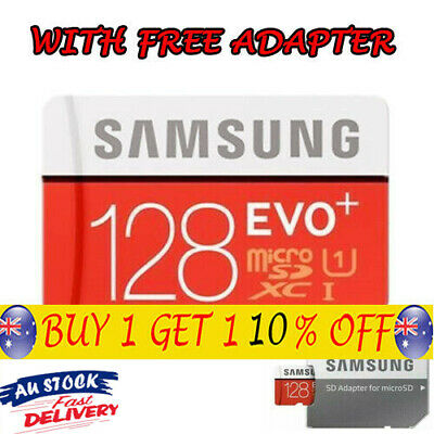 2019 Samsung Memory 128GB EVO+ Micro SD card with Adapter AU SELLER Brand TH