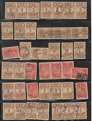 CANADA Collection on Imperial printed leaves with some - 7582