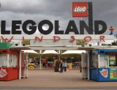 2 x LEGOLAND Windsor Resort tickets 3rd July 2019 03/07/2019 Wednesday