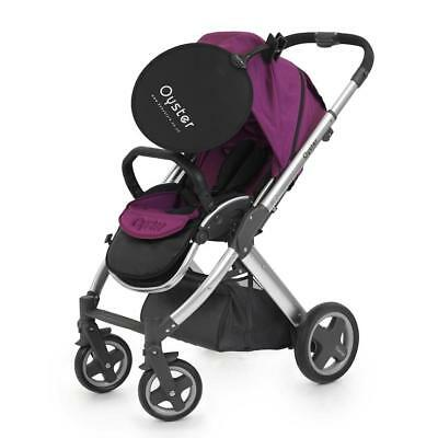 BabyStyle Oyster Universal Easy Clip On Sun Shade UV 50+ For Pushchair & Car