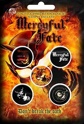 Mercyful Fate - Dont Break The Oath (New) (Gift) Badge Pack Official Band Merch
