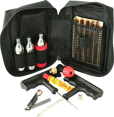 Gear Gremlin Motorcycle and Scooter Emergency Tubeless Tyre Puncture Repair Kit
