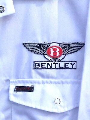 "Fine Goodwood Revival Vintage Classic Retro Bentley Badged Overalls 50"" Chest"