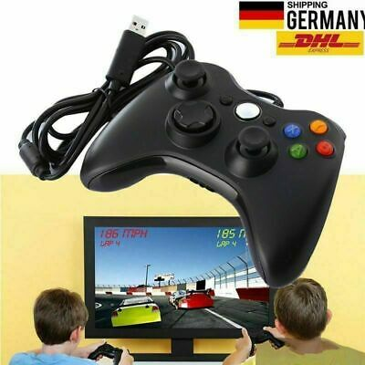 USB Wired PC Game Controller Remote Gamepad for Windows Xbox 360 PC Video Game