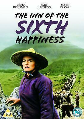 THE INN OF THE SIXTH HAPPINESS DVD Ingrid Bergman Curt Jurgens UK  New Sealed R2