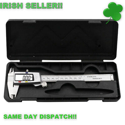 Digital Calipers 6 inch 150mm Stainless Steel Vernier Calipers Digital Calipers