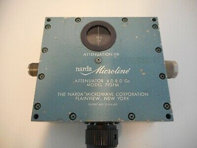 Narda 793FM Variable Attenuator
