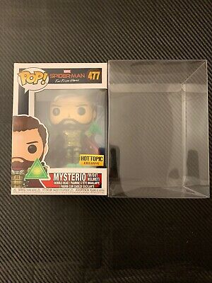 *IN HAND* Funko Mysterio Unmasked Hot Topic Exclusive SpiderMan Far From Home