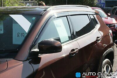 For Jeep Compass 2017+ Wind Deflectors Set (6 pieces)