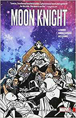 Moon Knight Vol. 3: Birth And Death, Smallwood, Greg,Lemire, Jeff, Excellent Boo