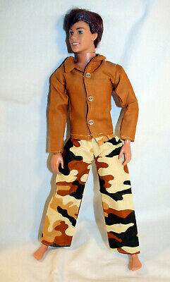 Handmade Doll Clothes For 12 Inch Male Fashion Dolls Outfit Pants Shirt