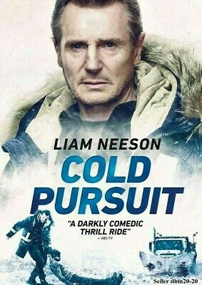 Cold Pursuit Dvd Brand New Sealed 2019