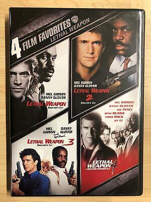 Lethal Weapon 1, 2, 3, 4 (DVD, 2-Disc, 4-film) - F0428