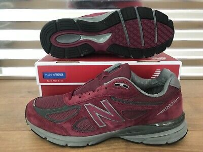 sports shoes 1d4c8 9074b NEW BALANCE 530 Size 12 Burgundy Red Black Leather Mens Shoe ...