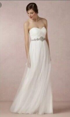 730ecaf2bb180 JENNY YOO ANNABELLE Convertible Tulle Bridesmaid Dress Grey - Size 0 ...