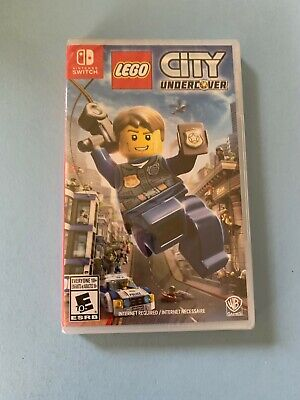 LEGO City Undercover (Nintendo Switch, 2017) BRAND NEW SEALED US/Canada