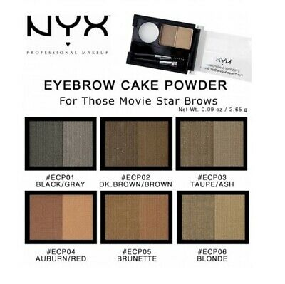 Nyx Eyebrow Cake Powder Your Choice Of Shade Choose 1