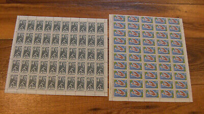 Canada #486 and 494 Full sheet of 50 XF NH C$262.50