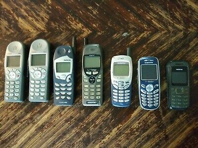 Lot of handheld phones