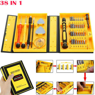 38 IN 1 Precision Screwdriver Tool Kit for Computer Laptop Electronics PC Repair