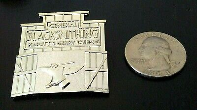 Knotts Berry Farm General Blacksmithing Limited Edition Pin  Knotts Trading Pin